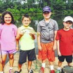 Kids enjoy fishing rodeo