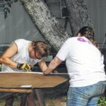 Youth work hard with Salkehatchie