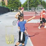 Getting down with tennis