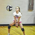 Campers learn volleyball fundamentals