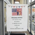 Offices closing for Labor Day