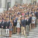 Academy students visit State House
