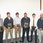 Touchdown Club award recipients