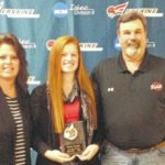 Lady Rebel receives All-State in volleyball
