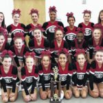 MCMS cheerleaders complete season