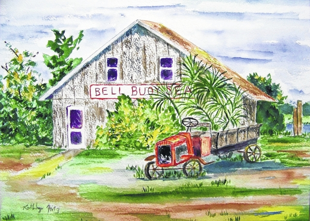 """Wessel's Library Gallery hosting """"Edisto Watercolors and Beyond"""""""