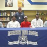 Five Newberry High gridiron stars sign LOIs