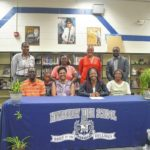 Bates signs with Spartanburg Methodist