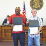 County employees honored