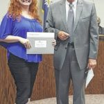 Newberry recognizes city employees for service