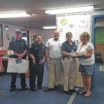 Dowd's Child Care kids reach out to city police