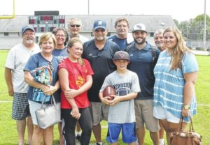 Strickland marks 300th win with NHS 47-14 victory