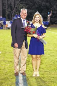 Harbert names Newberry Academy Homecoming Queen