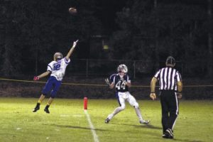 Sun Devils spoil Newberry Academy homecoming