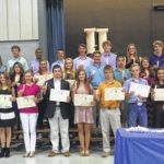 Newberry Academy inducts Beta Club members