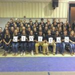 Newberry Academy's Junior Civitan group installs new members
