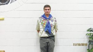 Troop 61 honors newest Eagle Scout