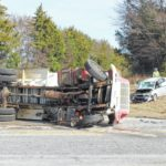 Portion of U.S. 176 closed after car, commercial truck wreck