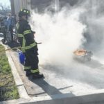 City Hall fire safety training