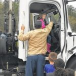 City departments visit Pomaria Garmany for Career Day