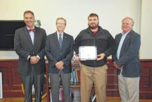 Newberry College senior selected for All-American pistol team