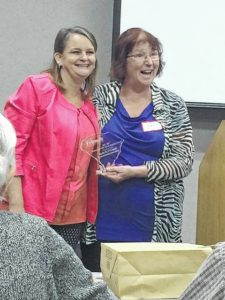 O'Connell receives statewide award