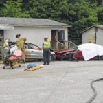 Mock wreck performed ahead of prom night