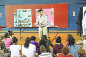 Newberry Elementary, Presbyterian College hold multicultural celebration