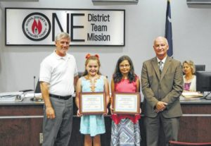 School Board recognitions